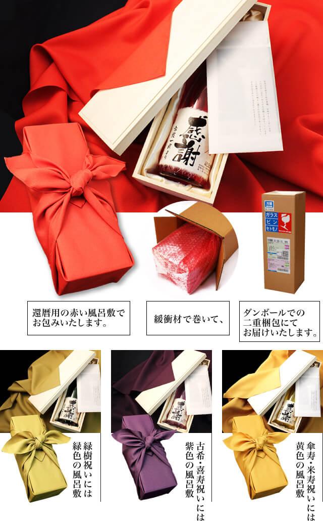 Υπάρχει μια furoshiki που ταιριάζει με το χρώμα της γιορτής της μακροζωίας
