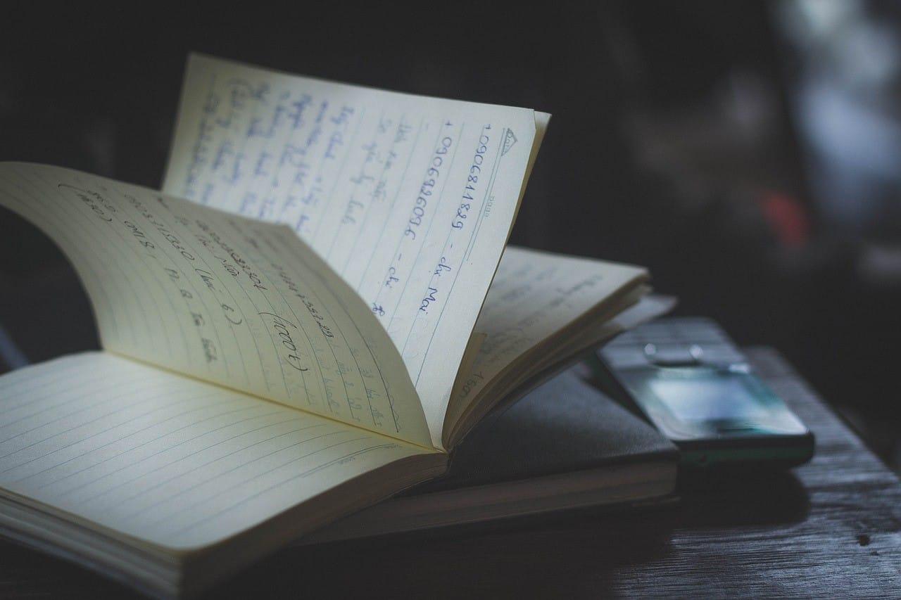 知識を詰め込んだノートブック