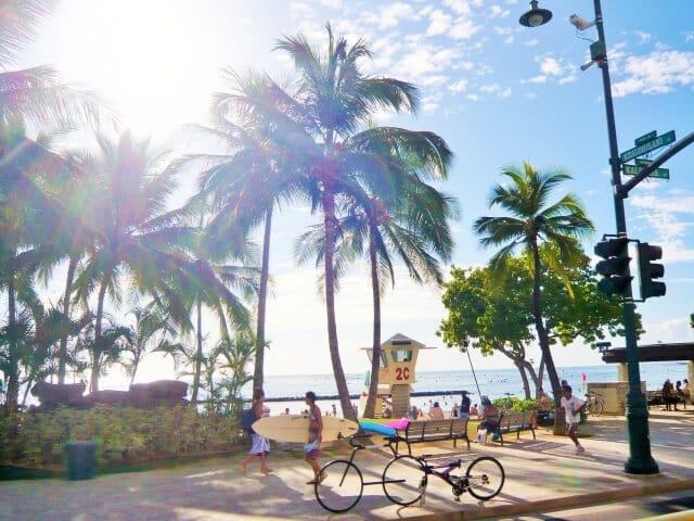 還暦にハワイ旅行