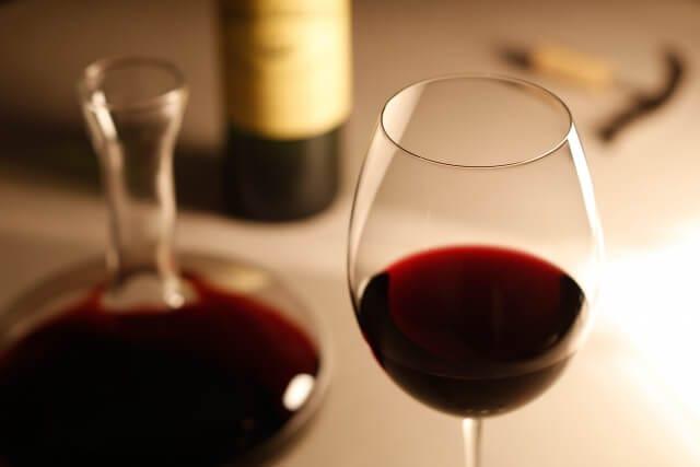 還暦祝いに赤ワイン