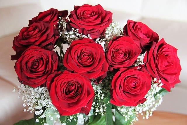 還暦祝いのバラの花束