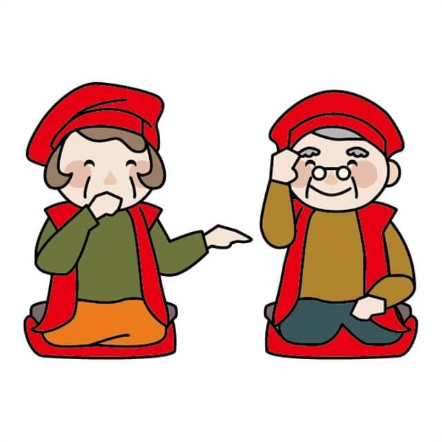 還暦と赤いちゃんちゃんこ