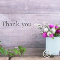 感謝を伝えよう