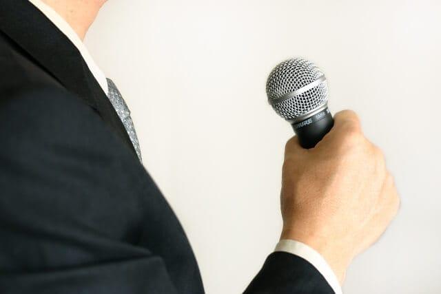 代表のスピーチ