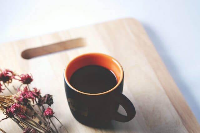 自宅でコーヒータイム