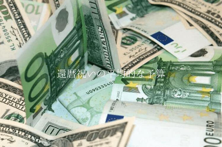 海外の紙幣が無造作に置かれている