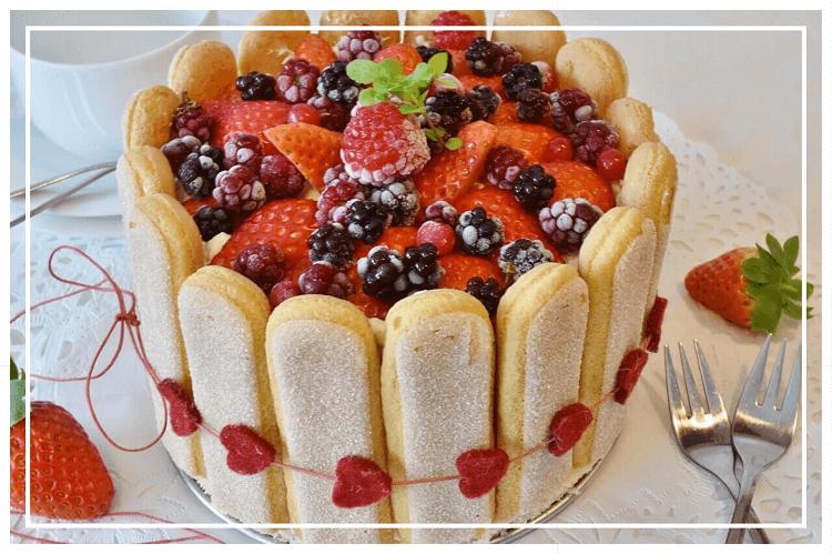 ベリーといちごのケーキ(ホールサイズ)