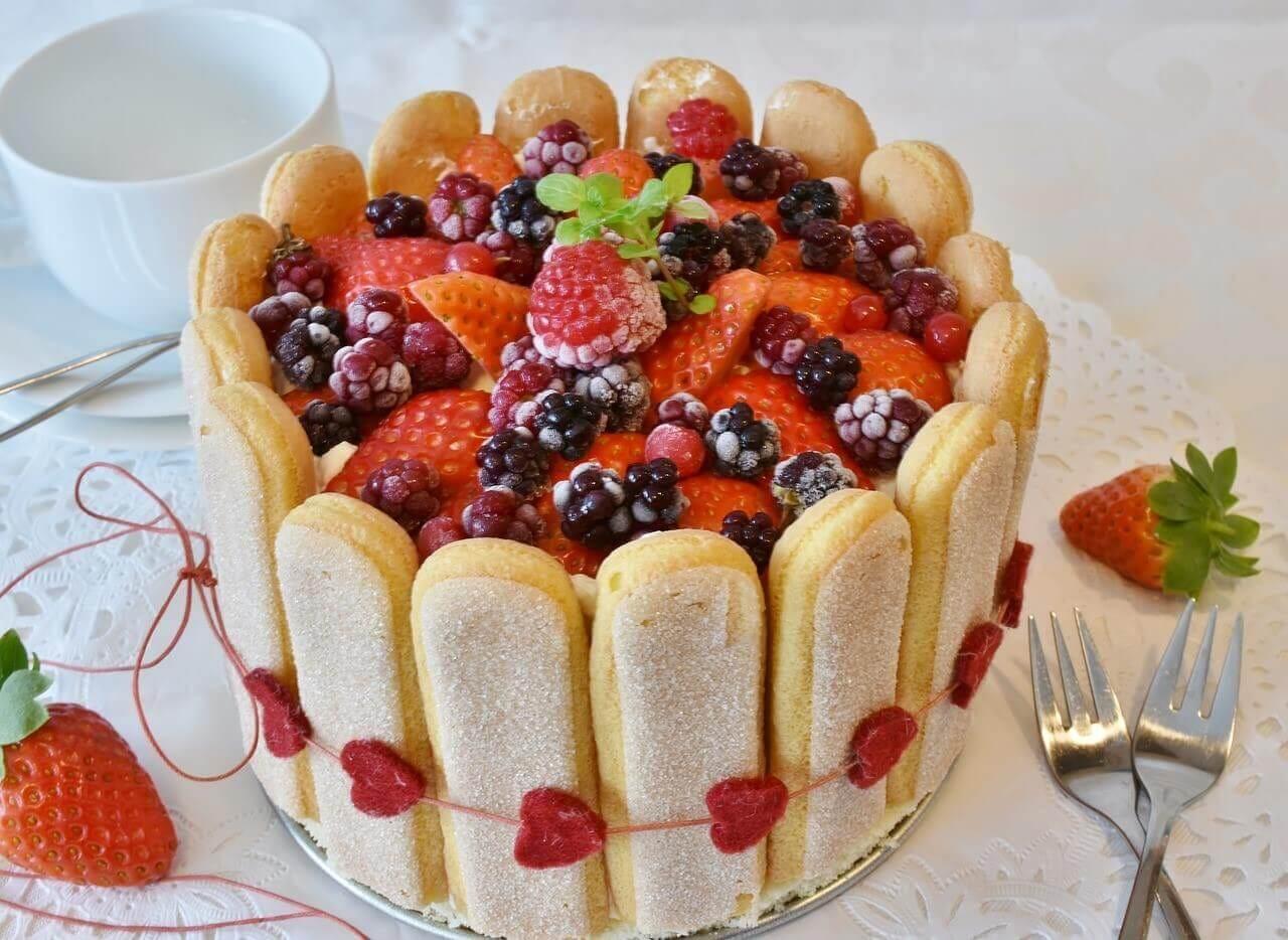 オリジナルの特注ケーキ