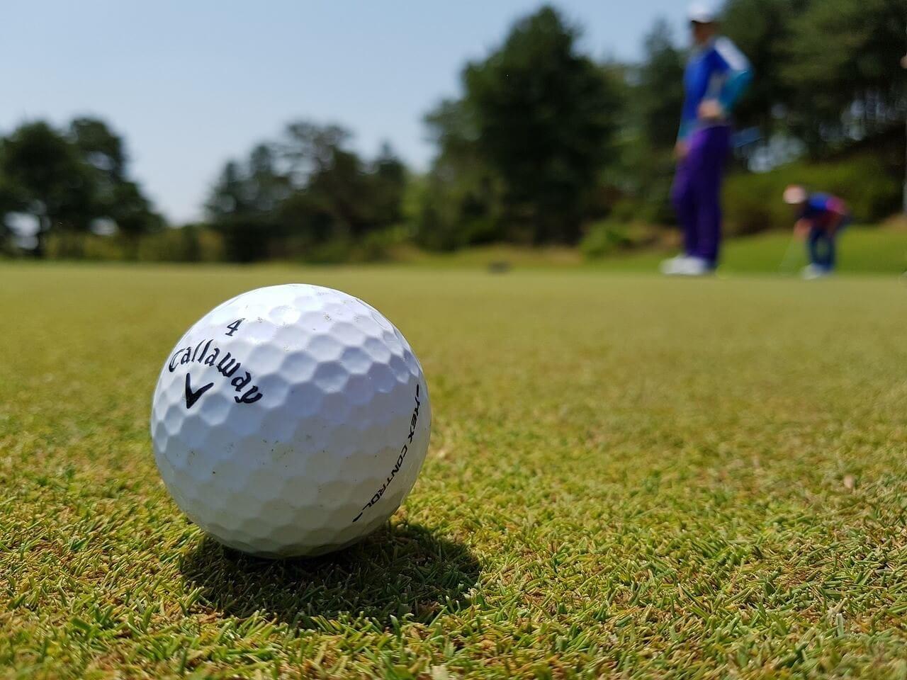 ゴルフ場とゴルフボール
