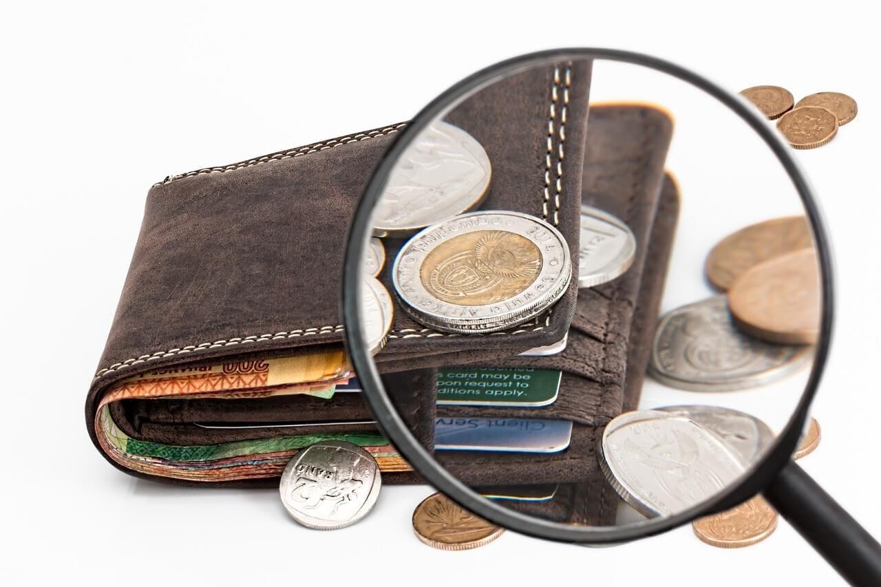 予算をイメージした財布