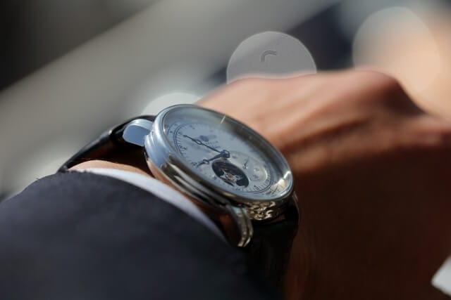 お祝いには腕時計