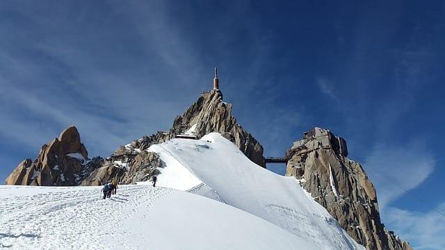 モンブラン山頂で傘寿を迎える