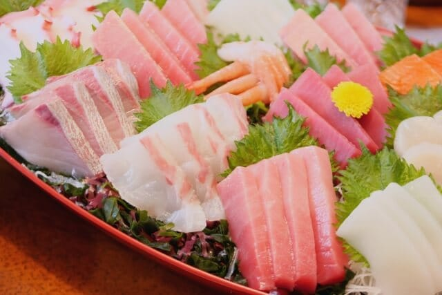 傘寿祝いに軽い食事会
