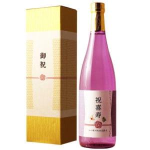 喜寿祝いの長寿酒