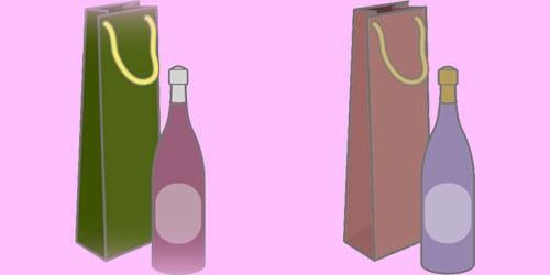 Εικόνα που απεικονίζει μια φιάλη υγρού και μια τσάντα μεταφοράς