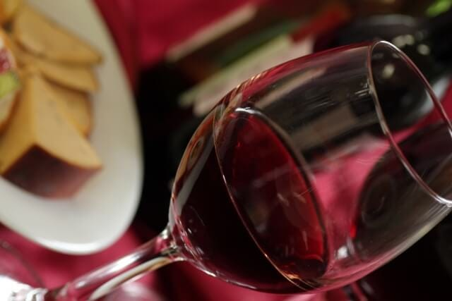 ワインと食事