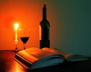 Κρασί και βιβλίο