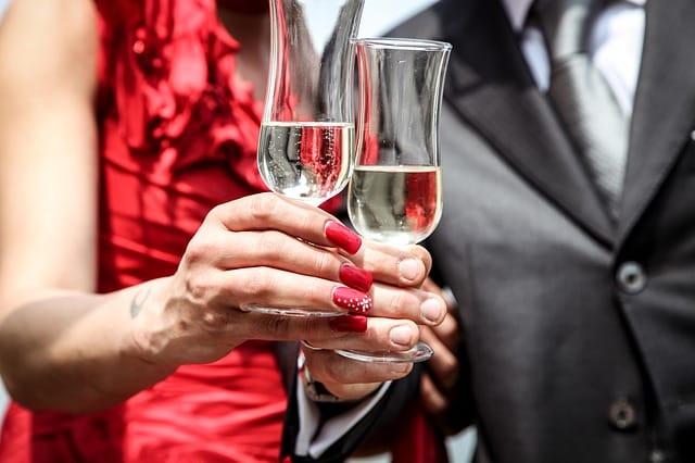 Five representative wine glasses