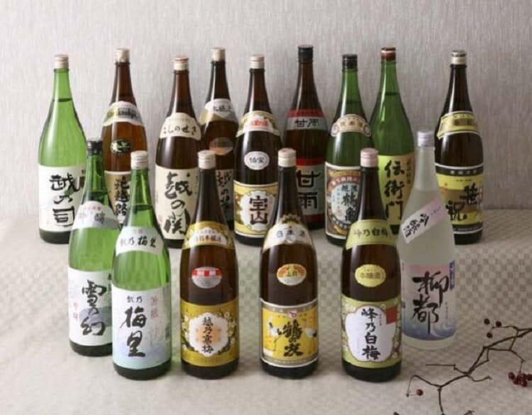 新潟市の地酒(新潟市内15蔵元)