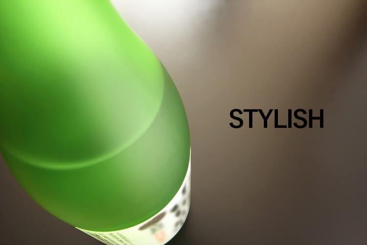 Φιάλη πράσινου σακάκι