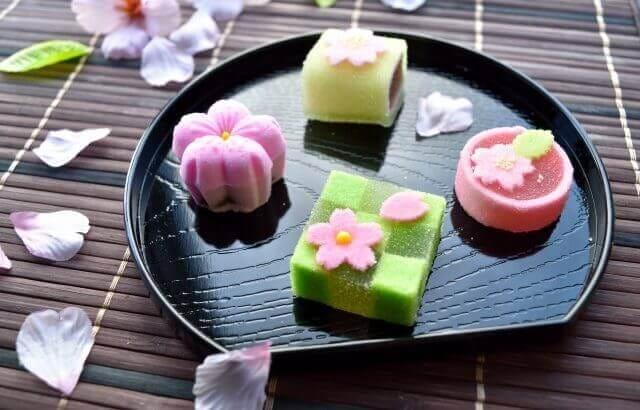 和菓子と日本酒のマリアージュ