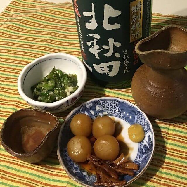 日本酒、こんにゃく、おつまみ、レシピ