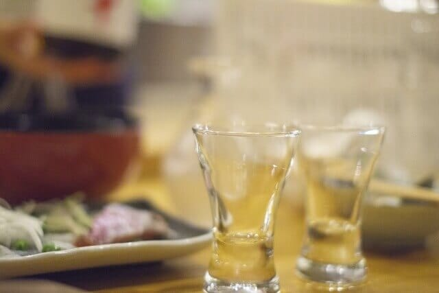 Protect your manners and enjoy sake