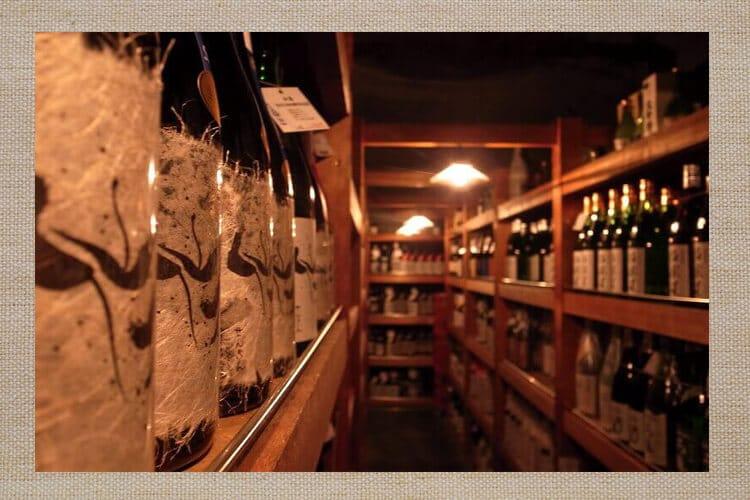 日本酒 貯蔵