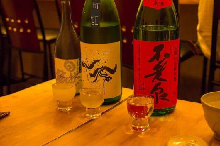 Comparaison de la consommation de saké