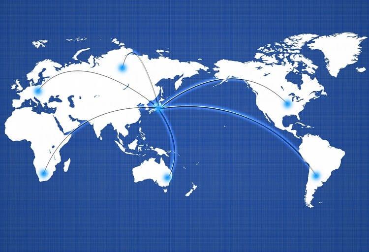 世界 輸出 イメージ