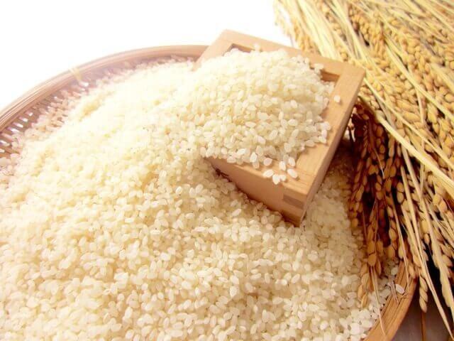 お米の処理