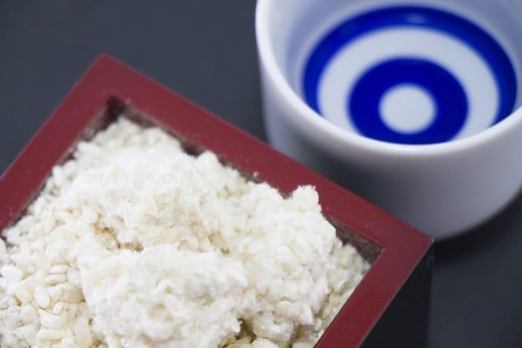 米麹と日本酒