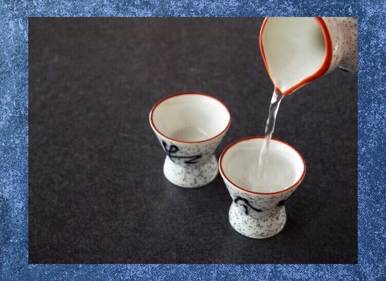 Το sake sake για χάρη από δύο σοκολάτες